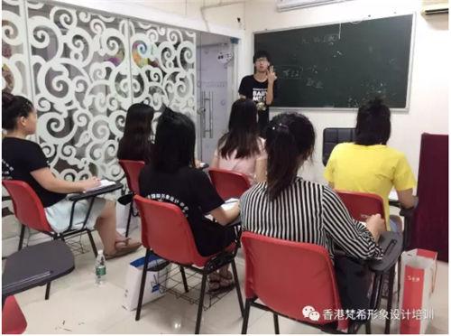 台风天,依然阻挡不了化妆培训班学员对学习的热情