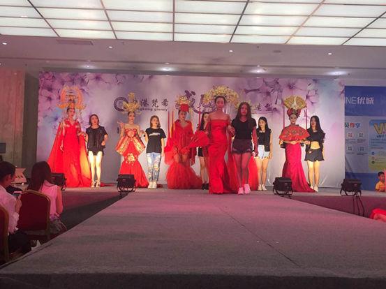 香港梵希威尼斯及中国风主题化妆造型展示