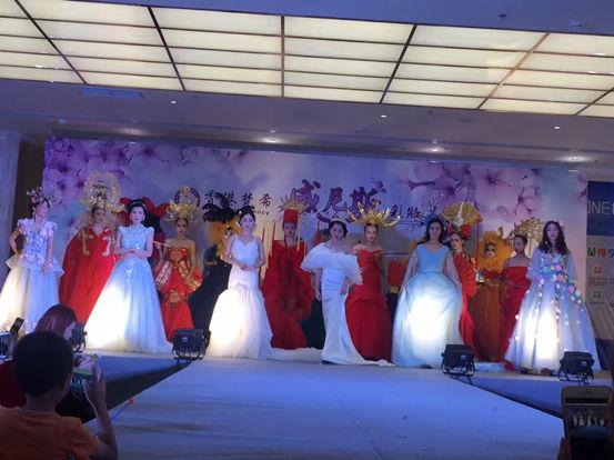 香港梵希时尚纱裙造型展示