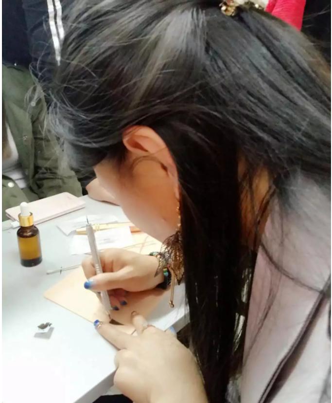美容学校纹绣学习