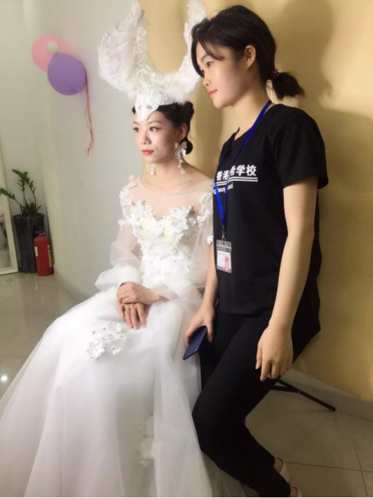 深圳梵希美容学校学员作品
