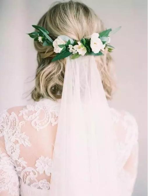 香港梵希短发新娘造型