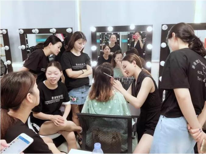 化妆培训,化妆培训教程