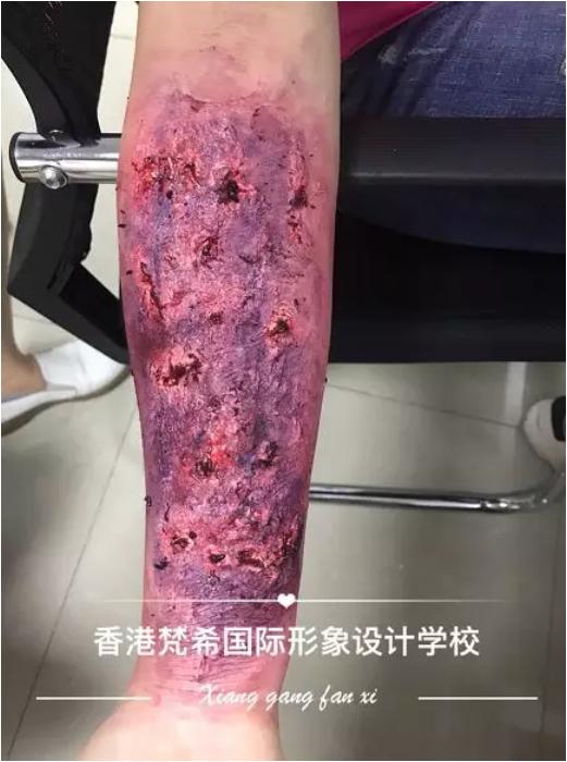 化妆培训班脚腐烂设计