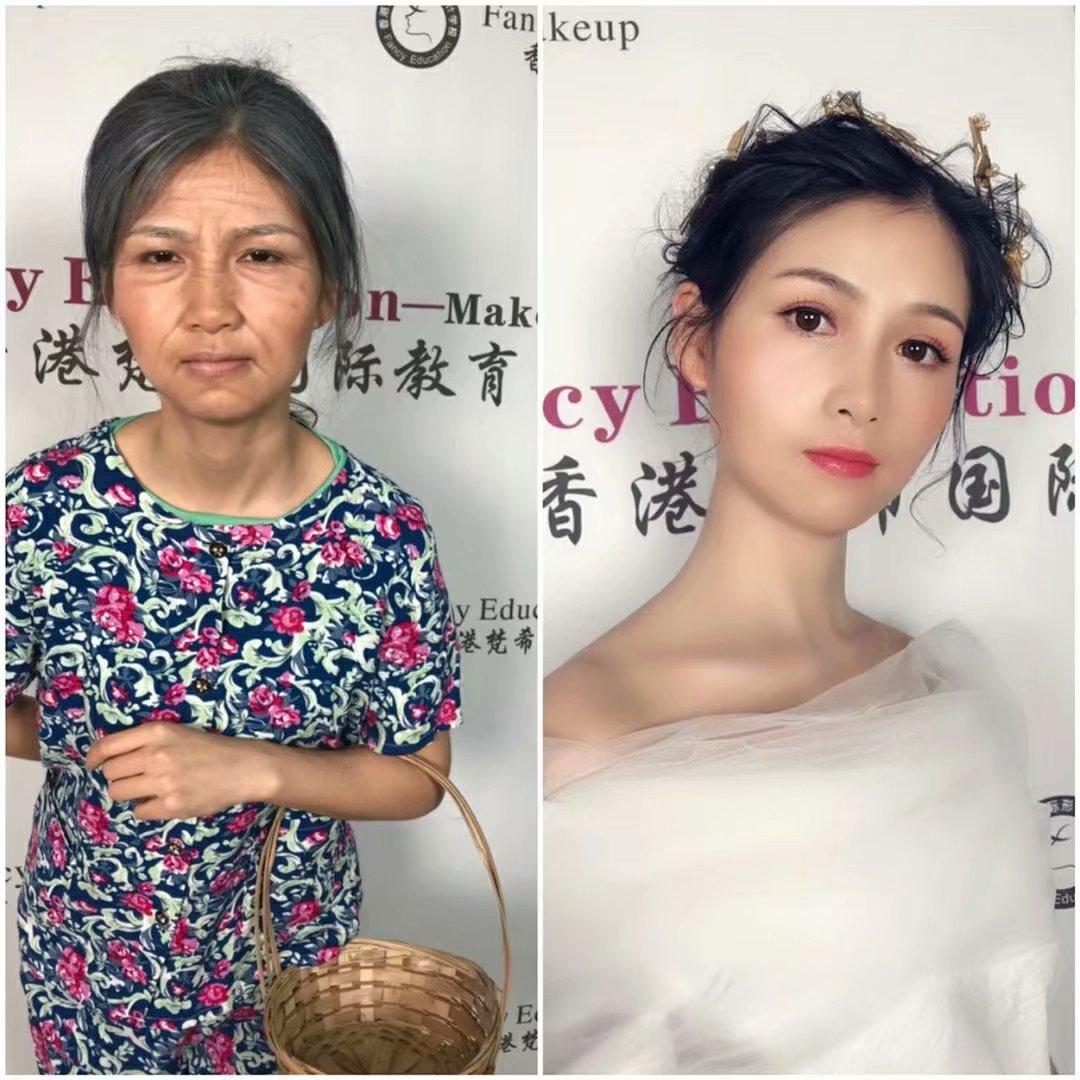 化妆培训班要学多久觉得你的化妆技术