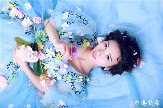 森系新娘造型作品11