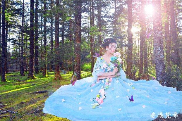 森系新娘造型作品14