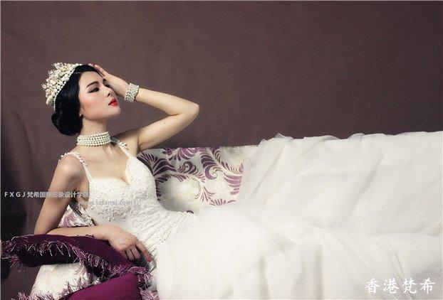 美丽皇后复古造型作品5