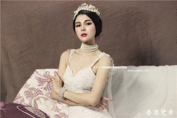 美丽皇后复古造型作品6
