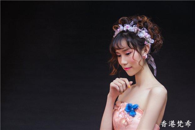 粉红佳人新娘作品5