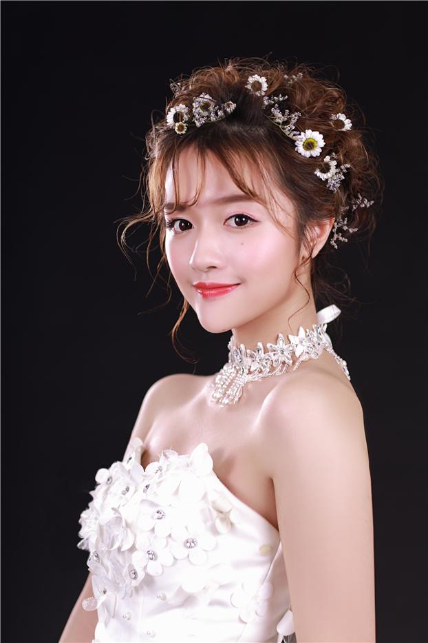 韩式新娘造型作品