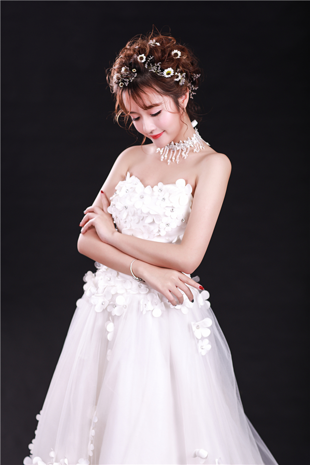 韩式新娘造型3
