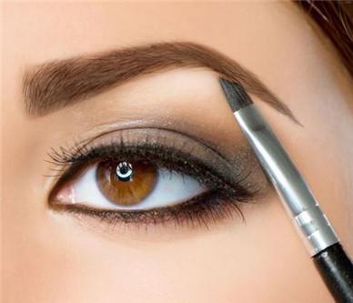 怎么学化妆画眉