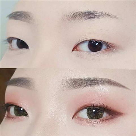 单眼皮怎么画眼线?