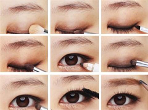 单眼皮怎么画眼线总结图解