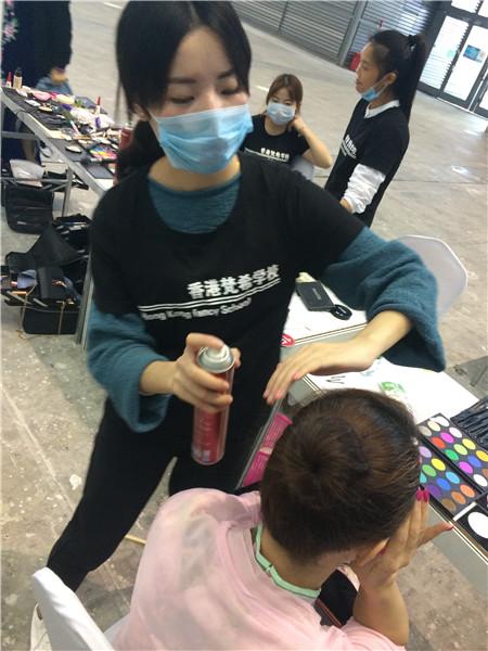 深圳哪里有化妆学校?来梵希找到属于自己的一片天和地